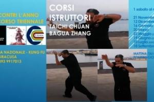 Corsi Istruttori Taichi Chuan e Bagua Zhang
