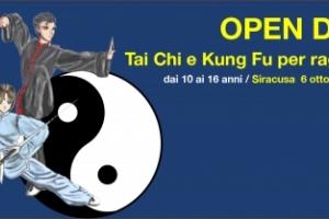 OPEN DAY Tai Chi e Kung Fu per ragazzi